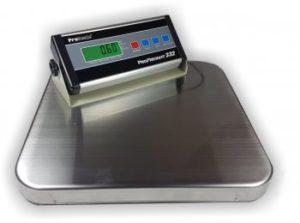 Edelstahl-Plattformwaage bis 150kg von Proscale